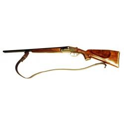 Řemen na zbraň stahovací 3 cm - guma