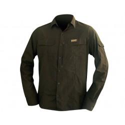 Košile SAVANNAH-L Brown Hart