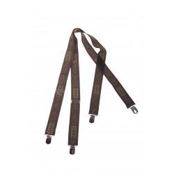 Podvazky METAL CLIP Suspenders Hart