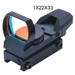FOMEI 1x22x33 mm kolimator RED (21mm)